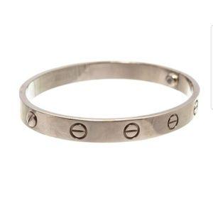 Finnal sale Cartier withers gold love bracelet